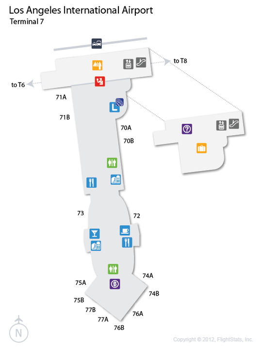 los angeles airport gate map bnhspinecom